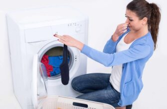 How do you get bad smell out of dryer